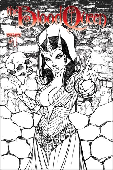 Blood Queen 1-C by Dynamite Entertainment