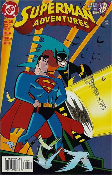 Superman Adventures 25-A by DC