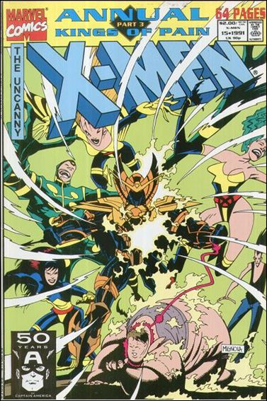Uncanny X-Men Annual (1970) 15-A by Marvel