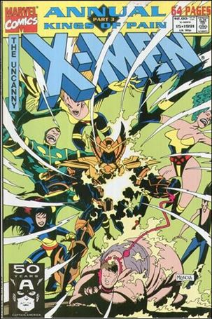 Uncanny X-Men Annual (1970) 15-A