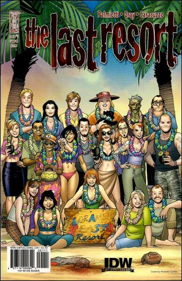 Last Resort 1-A by IDW