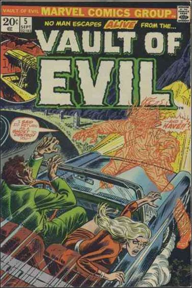 Vault of Evil 5-A by Marvel