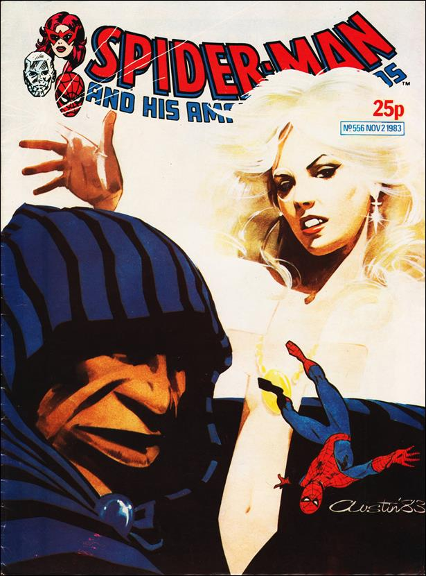 Spider-Man: Comics Weekly (UK) 556-A by Marvel UK