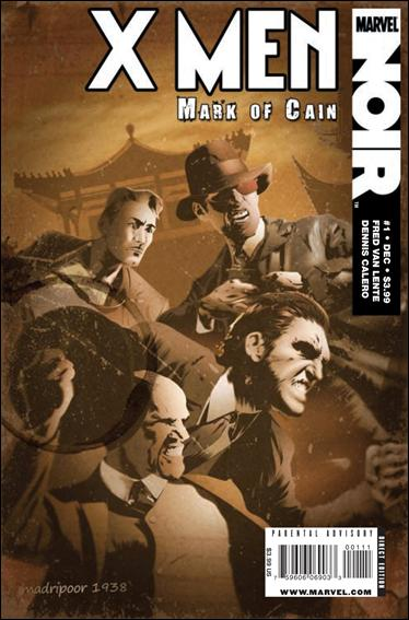X-Men Noir: Mark of Cain 1-A by Marvel