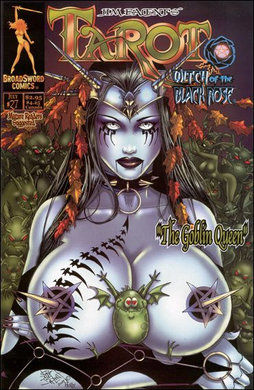 Tarot: Witch of the Black Rose 27-B by BroadSword Comics