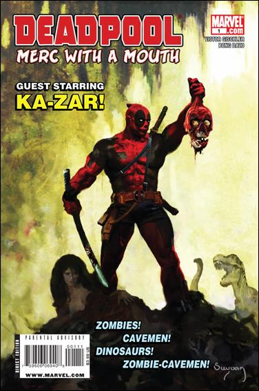 Deadpool: Merc with a Mouth 1-A by Marvel