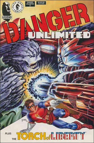 Danger Unlimited 2-A by Dark Horse