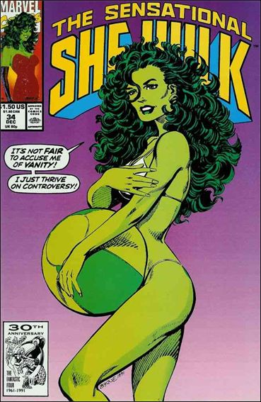 Sensational She-Hulk 34-A by Marvel