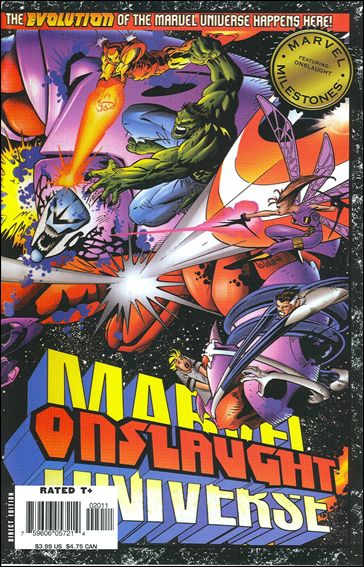 Marvel Milestones: Onslaught 1-A by Marvel