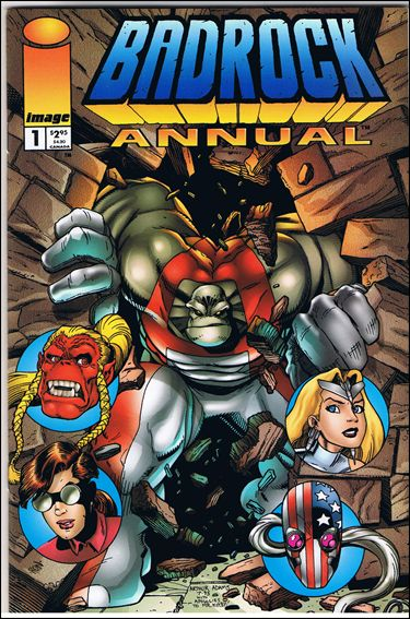 Badrock Annual 1-A by Image
