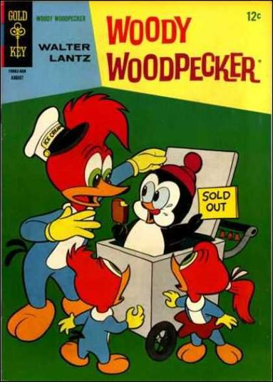 Walter Lantz Woody Woodpecker  92-A by Dell