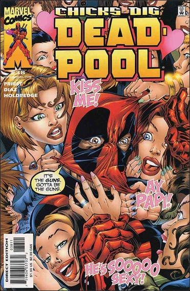 Deadpool (1997) 38-A by Marvel