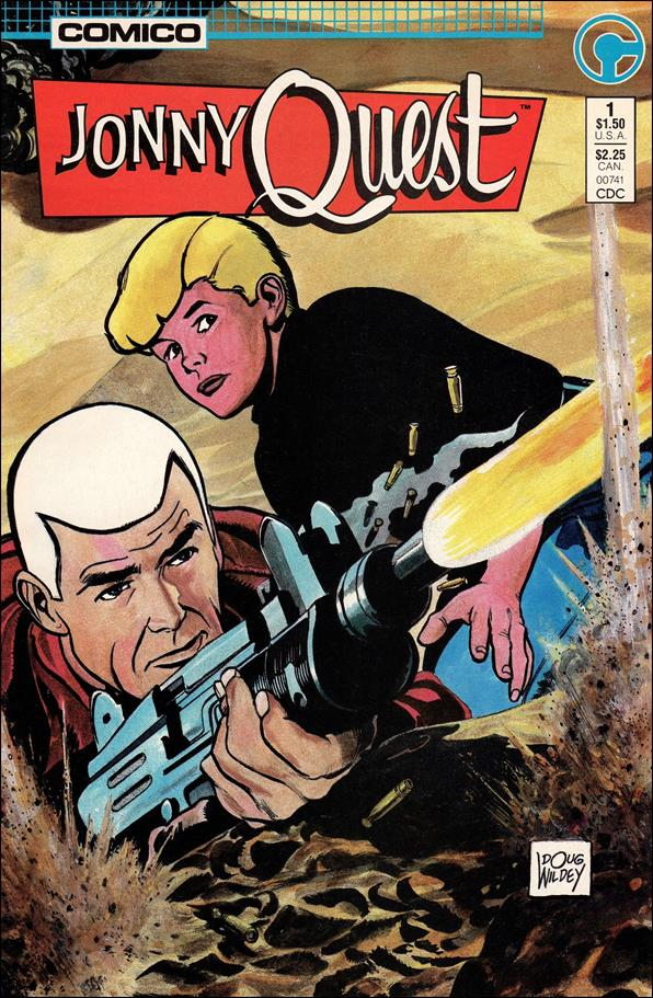 Jonny Quest (1986) 1-A by Comico