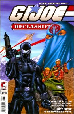 G.I. Joe: Declassified 3-A by Devil's Due