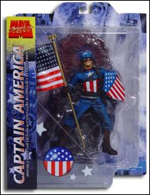 Marvel Select Ultimate WWII Captain America by Diamond Select