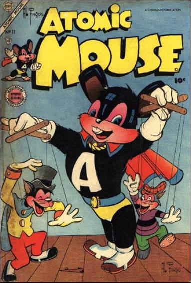 Atomic Mouse (1953) 11-A by Charlton
