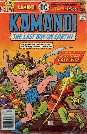 Kamandi, the Last Boy on Earth 44-A by DC