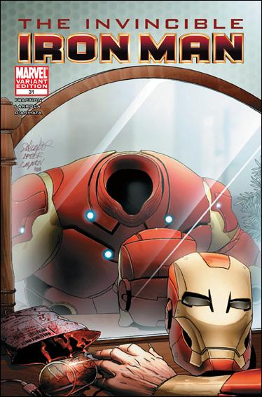 Invincible Iron Man (2008) 31-B by Marvel