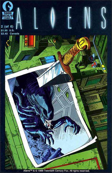 Aliens (1988) 2-A by Dark Horse