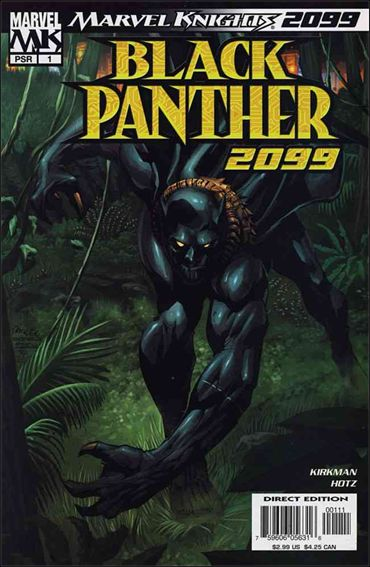 Black Panther 2099 1-A by Marvel