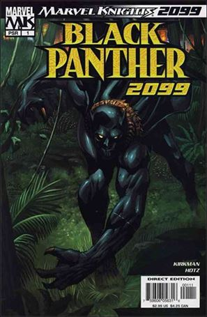 Black Panther 2099 1-A