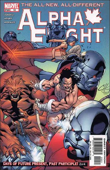 Alpha Flight (2004) 10-A by Marvel