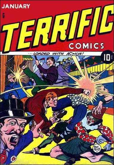 Terrific Comics (1944) 1-A by Continental Magazines