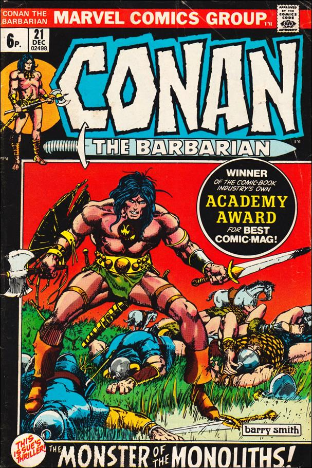 Conan the Barbarian (1970) 21-B by Marvel