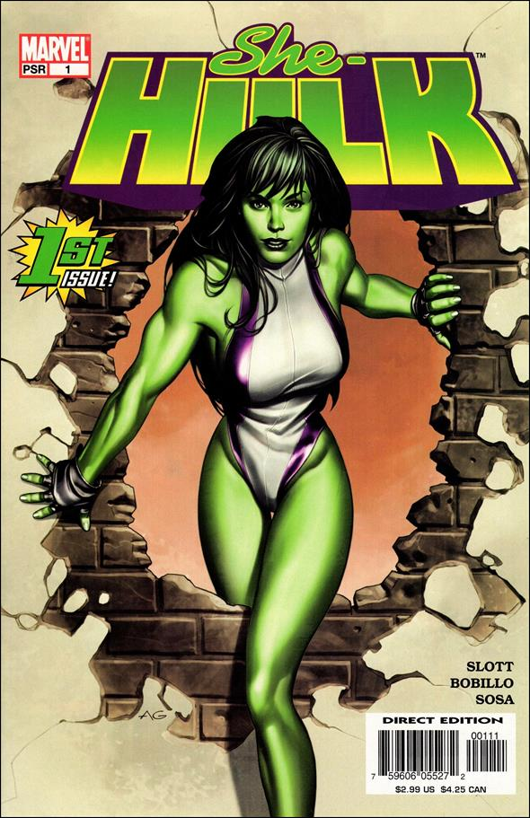 She-Hulk (2004) 1-A by Marvel