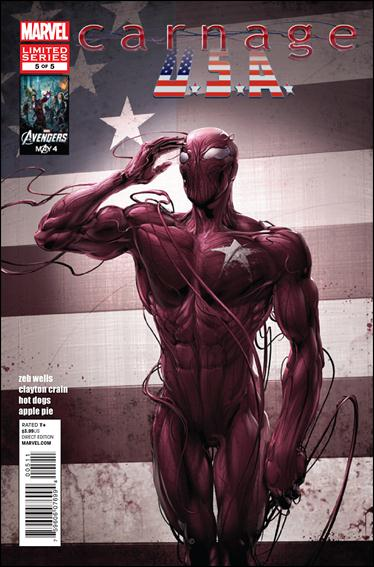 Carnage, U.S.A. 5-A by Marvel