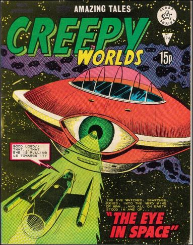 Creepy Worlds (UK) 174-A by Alan Class