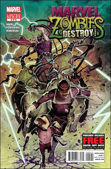 Marvel Zombies Destroy! 5-A by Marvel