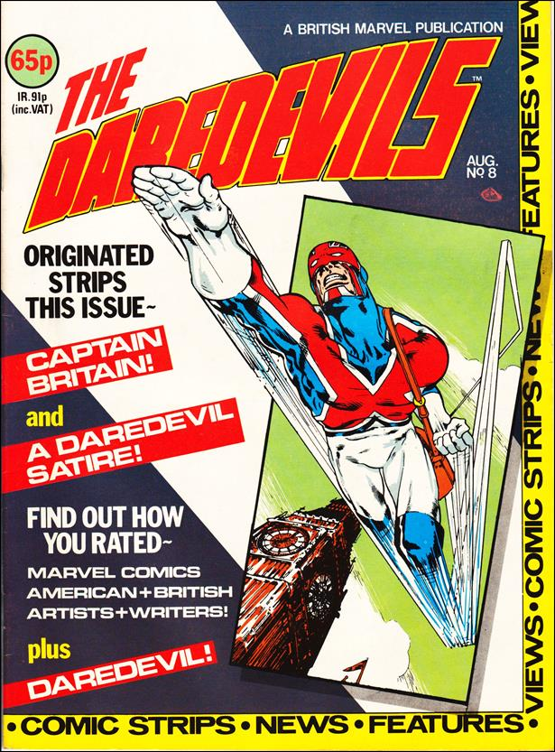 Daredevils (UK) 8-A by Marvel UK