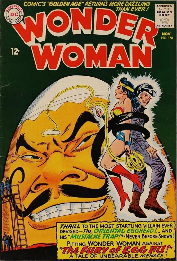 Wonder Woman (1942) 158-A by DC