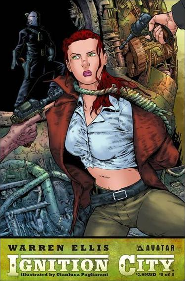 Warren Ellis' Ignition City 5-A by Avatar Press