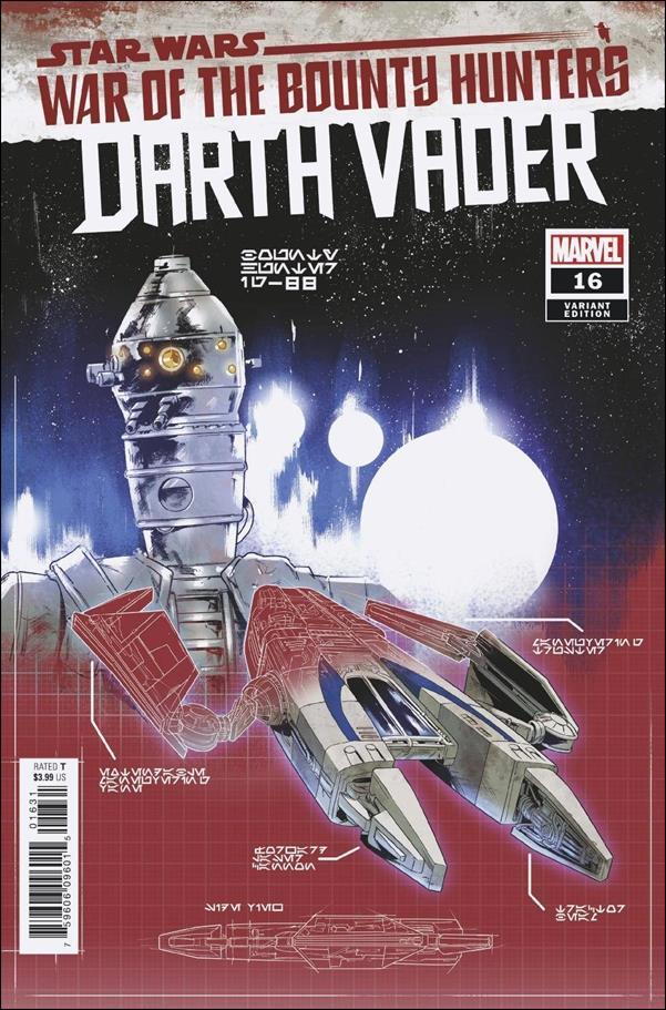 Star Wars: Darth Vader 16-B by Marvel