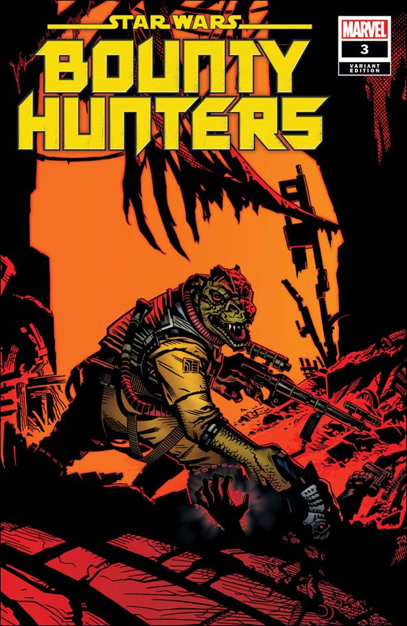 Star Wars: Bounty Hunters 3-C by Marvel