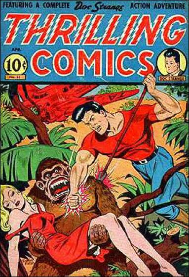 Thrilling Comics (1940) 53-A by Standard