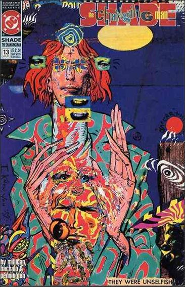 Shade, the Changing Man (1990) 13-A by Vertigo