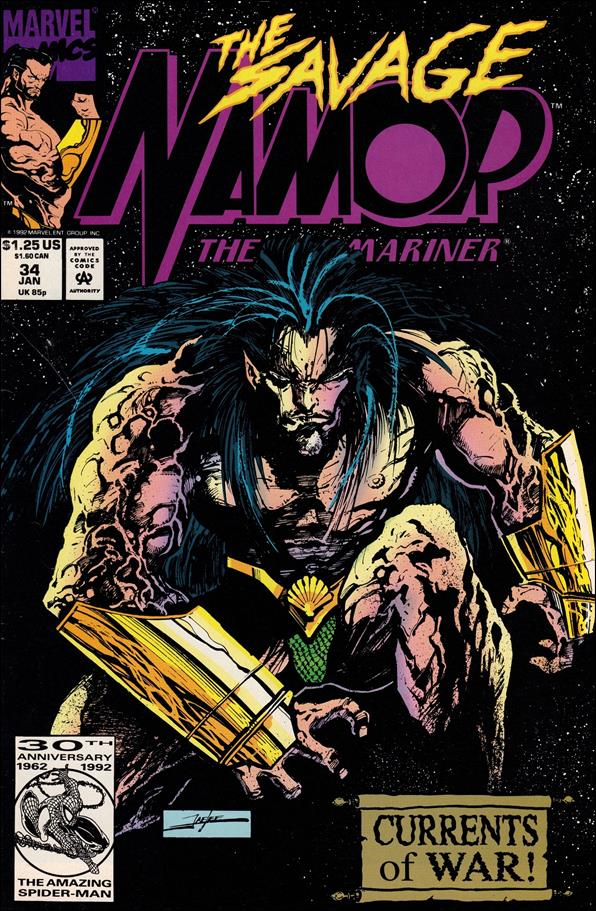 Namor: The Sub-Mariner 34-A by Marvel