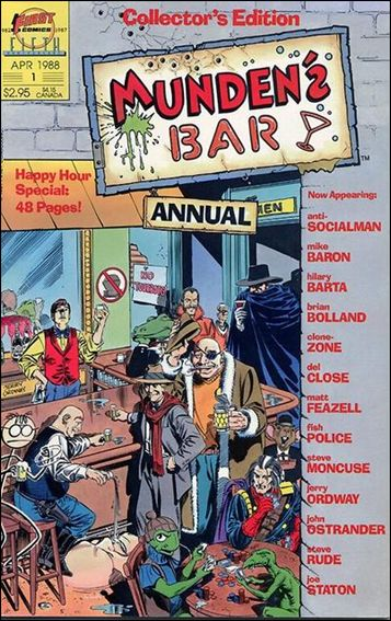 Munden's Bar Annual 1-A by First