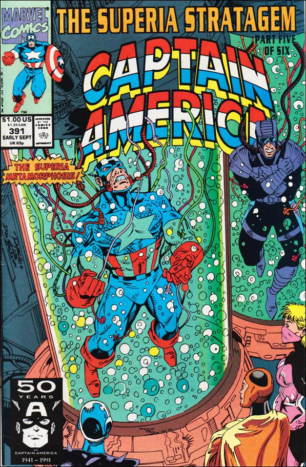 Captain America (1968) 391-A by Marvel