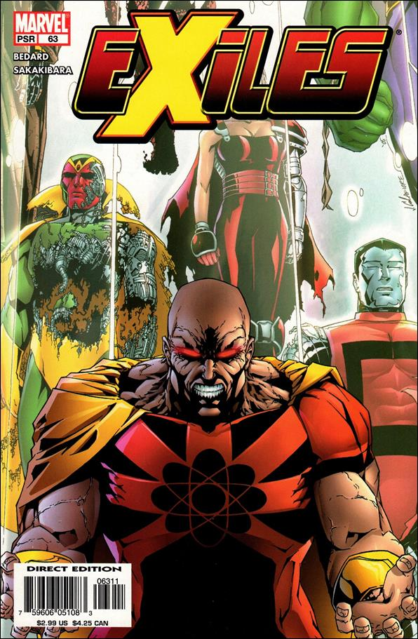 Exiles (2001) 63-A by Marvel