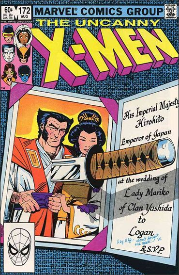 Uncanny X-Men (1981) 172-A by Marvel
