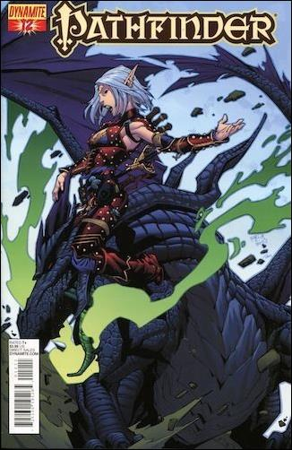 Pathfinder 12-A by Dynamite Entertainment