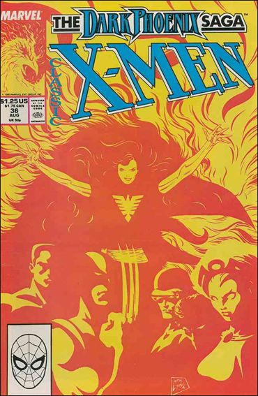 Classic X-Men 36-A by Marvel