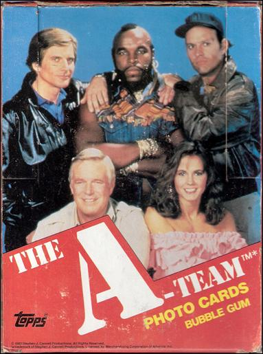 A-Team 1-A by Topps