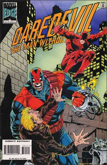Daredevil (1964) 351-A by Marvel