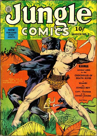 Jungle Comics (1940) 3-A by Fiction House Magazines