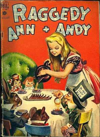 Raggedy Ann and Andy (1946) 21-A by Dell